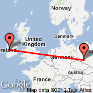 Wroclaw (Copernicus Airport, WRO) - Galway (Carnmore, GWY)