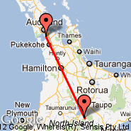 Whitianga (WTZ) - Auckland (Auckland International, AKL)