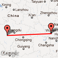 Wuhan (Tianhe International, WUH) - Kangding (KGT)