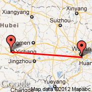 Wuhan (Tianhe International, WUH) - Yichang (YIH)