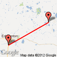 Edmonton (Edmonton International, YEG) - Bonnyville (YBY)
