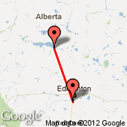 Edmonton (Edmonton International, YEG) - Slave Lake (YZH)