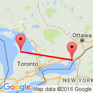 Kingston (Kingston/Norman Rogers Airport, YGK) - Wiarton (Wiarton/Keppel Airport, YVV)