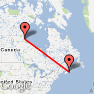 Halifax (Halifax International, YHZ) - Churchill/Manitoba (Metropolitan Area, YYQ)