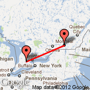 Kitchener (Kitchener-Waterloo Regional, YKF) - Montreal (Metropolitan Area, YMQ)