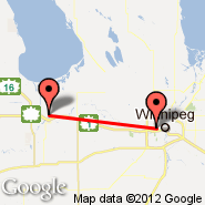 Portage La Prairie (Southport Airport, YPG) - Winnipeg (James Armstrong Richardson International Airport, YWG)
