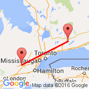 Peterborough (YPQ) - Kitchener (Kitchener-Waterloo Regional, YKF)