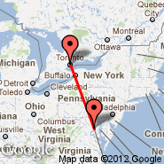 Toronto (Toronto Pearson International, YTO) - Washington (Metropolitan Area, WAS)