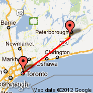 Toronto (Toronto Pearson International, YTO) - Peterborough (YPQ)