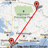 Toronto (Toronto Pearson International, YTO) - Pembroke (Pembroke And Area Apt, YTA)