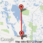 Winnipeg (James Armstrong Richardson International Airport, YWG) - Poplar River (XPP)