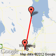 Winnipeg (James Armstrong Richardson International Airport, YWG) - Gimli (Gimli Industrial Park Airport, YGM)