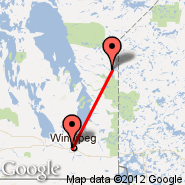 Winnipeg (James Armstrong Richardson International Airport, YWG) - Little Grand Rapids (ZGR)