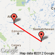 Saskatoon (J.G. Diefenbaker International Airport, YXE) - Slave Lake (YZH)