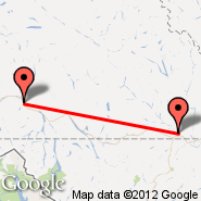 Whitehorse (Whitehorse International, YXY) - Watson Lake (YQH)