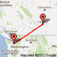 Calgary (Calgary International Airport, YYC) - Seattle (Seattle-Tacoma International, SEA)