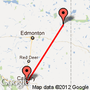 Calgary (Calgary International Airport, YYC) - Bonnyville (YBY)
