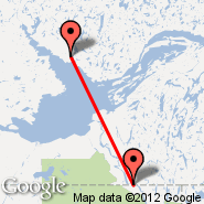 Yellowknife (YZF) - Fort Smith (YSM)