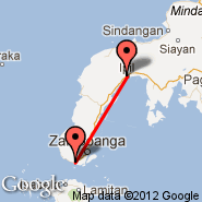 Zamboanga (Zamboanga International, ZAM) - Ipil (IPE)