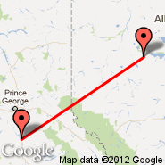 High Prairie (ZHP) - Quesnel (YQZ)