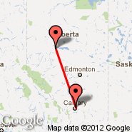 High Prairie (ZHP) - Calgary (Calgary International Airport, YYC)