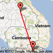 Savannakhet (ZVK) - Ho Chi Minh City (Tan Son Nhat International, SGN)