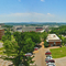 A Panoramic View from My Dorm Room in Reid Hall at the U of A