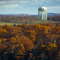 South Hadley water tower from I-91 overlook in Holyoke