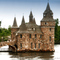 Thousand islands Boldt Castle estate, Heart Island, USA.