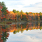 Gaston Pond in Autumn