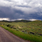 Storm Over Natural Bridge Road Wyoming
