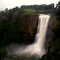 Howick Falls in flood