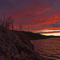 Sunset at Jackfish lake