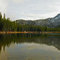 Anthony Lakes with Gunsight Mountain Panoramic