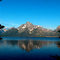 Mt. Moran across Jackson Lake, Grand Teton National Park, Wyoming