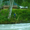 crossing the river at Betung